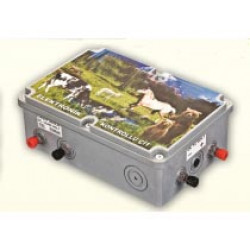 Controls electric fence
