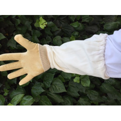 Gloves plastic WHITE