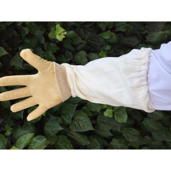 Gloves plastic WHITE