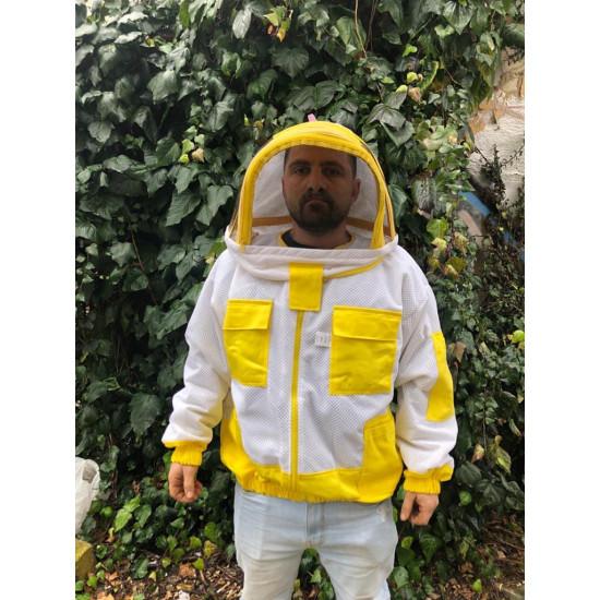 Jacket mask Aerated astronaut white