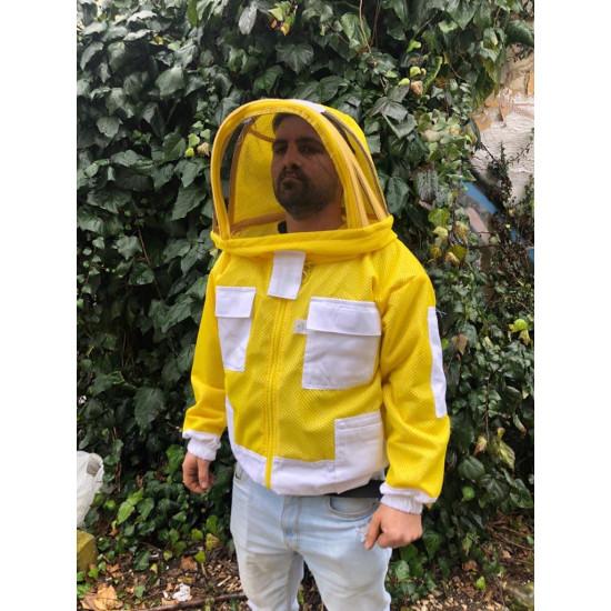 Jacket mask Aerated astronaut yellow