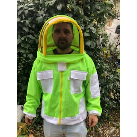 Jacket mask Aerated astronaut green
