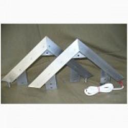Triangular knife SCRUB With electricity