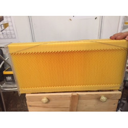 honeycomb which allows us to harvest a without opening the hive