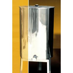 Honey tank heated 210 kg