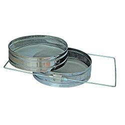 Metal filter honey double 18 * 18