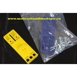 Rectangular flip cell 95*32 mm