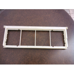 Plastic frame with separation (smal)