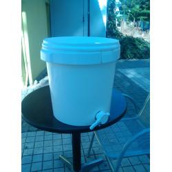 Plastic bucket for honey cannula 40k