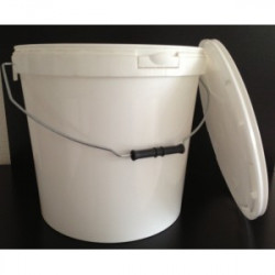 Plastic bucket for honey cannula 25k