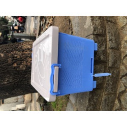 Plastic blower near and for ventilation