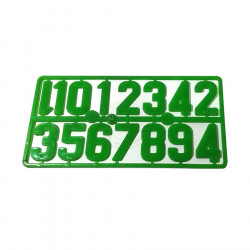 Plastic cell numbers